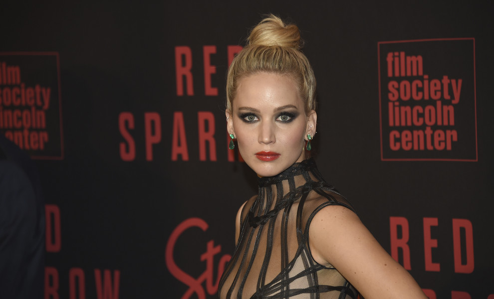 El look extremo de Jennifer Lawrence en Nueva York