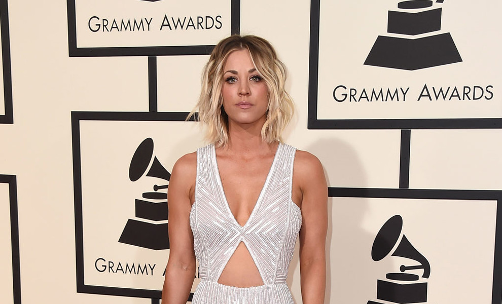 El original vestido de novia de Kaley Cuoco de 'The Big Bang Theory'