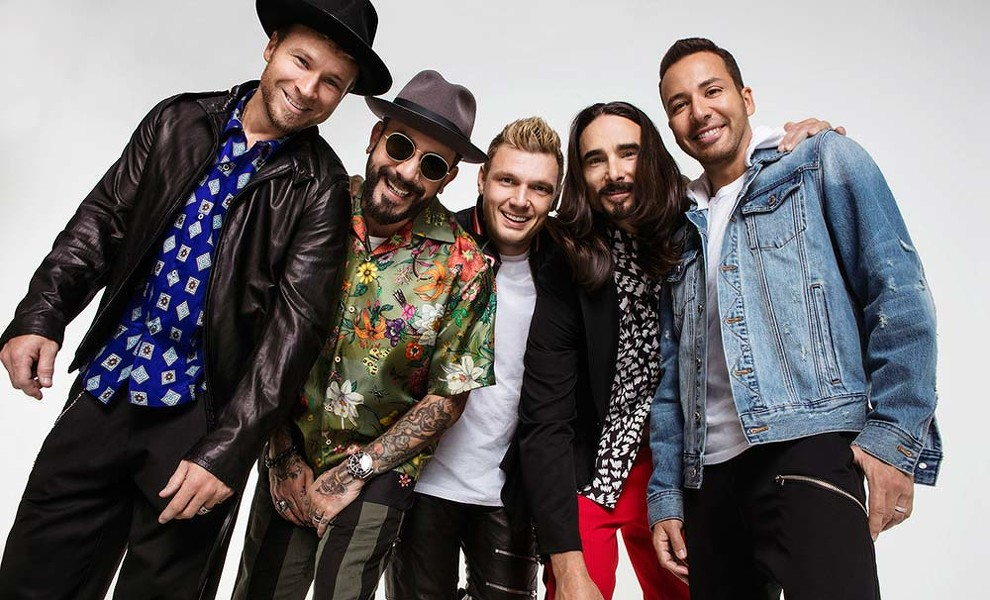 Los Backstreet Boys tienen nuevo single Don't go breaking my heart